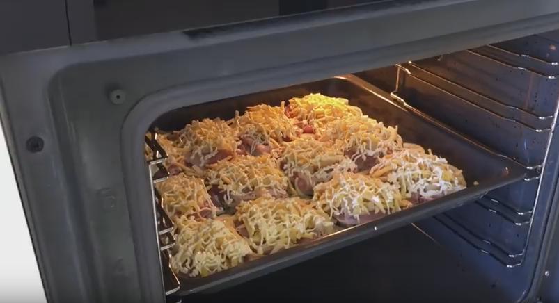 Запекание мяса в духовке