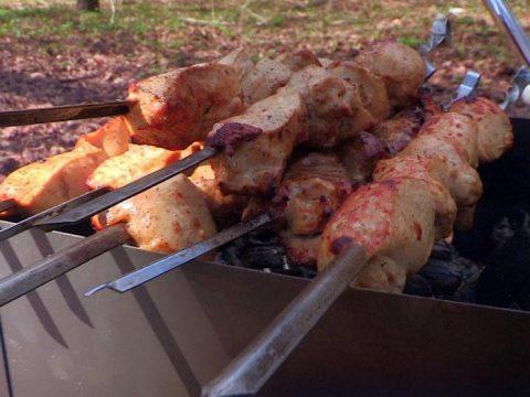 Очень простой рецепт шашлыка из курицы