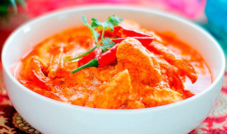 Рецепт курицы в красном тайском карри