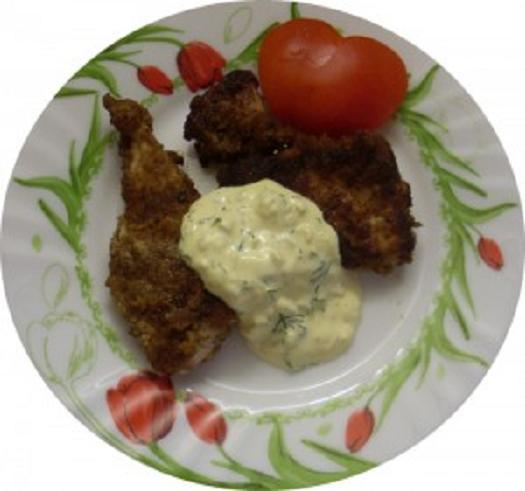 Жареное мясо с соусом Карри