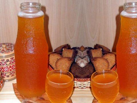 Хлебный квас - как приготовить из ржаного хлеба