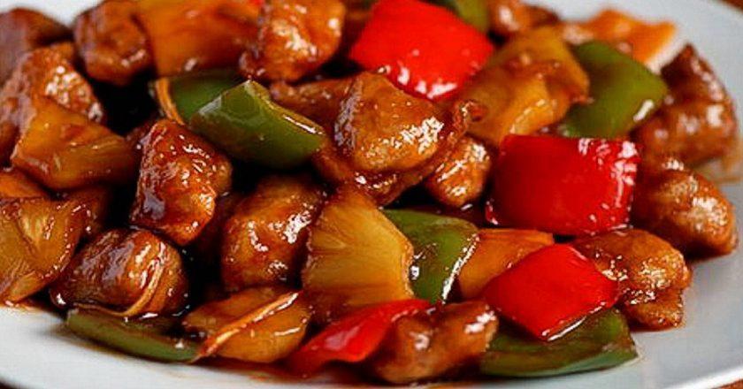 Тушеное мясо по-тайски