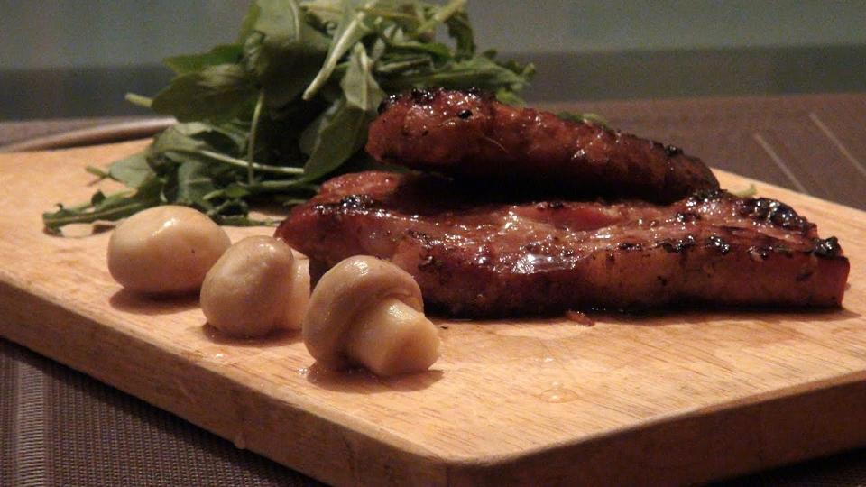 Эскалоп из говядины