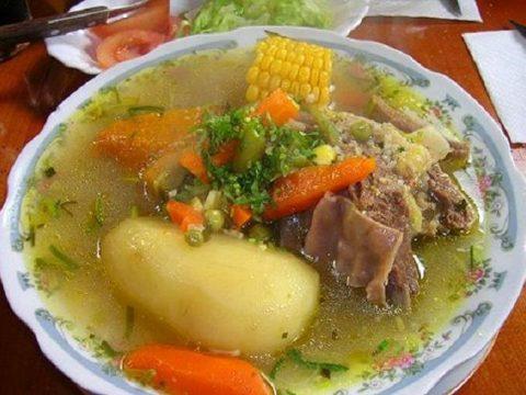 Чилийский суп Касуэлла