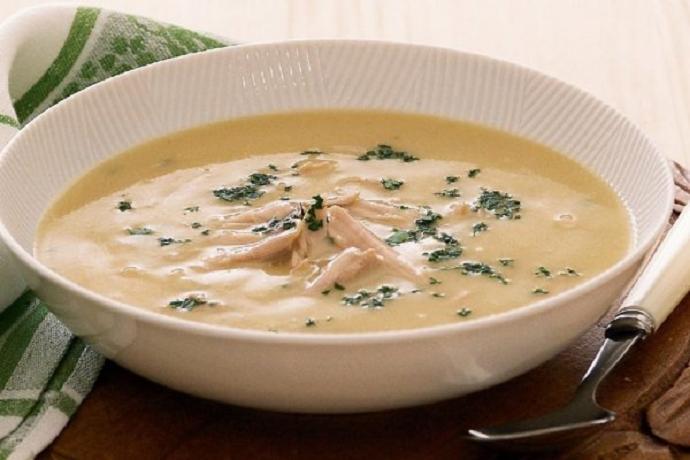 Крем – суп из курицы