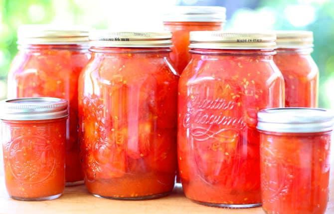 Помидоры в томате на зиму