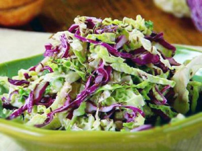 Легкий капустный салат