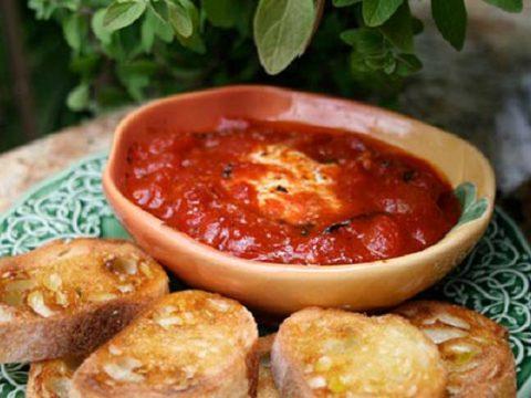 Томатный соус с сыром