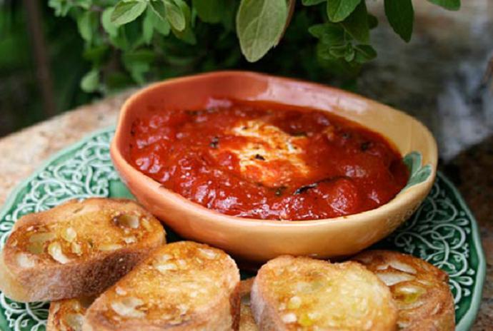 """Томатный соус с сыром """"Горгонцола"""""""