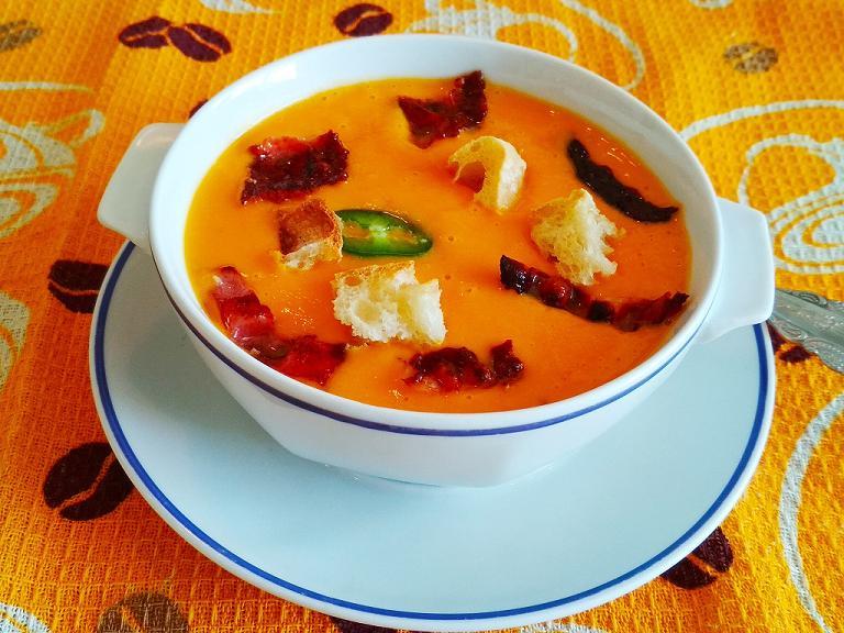 Тыквенный суп по Французски