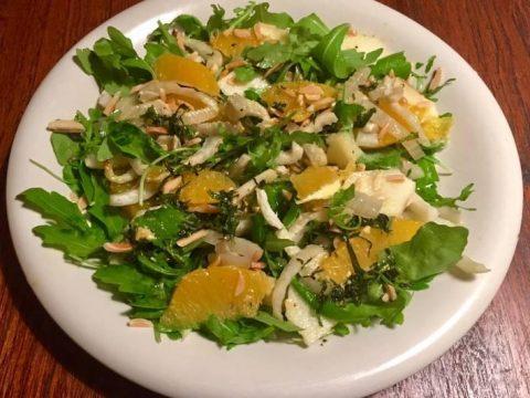 Апельсиновый салат с фенхелем