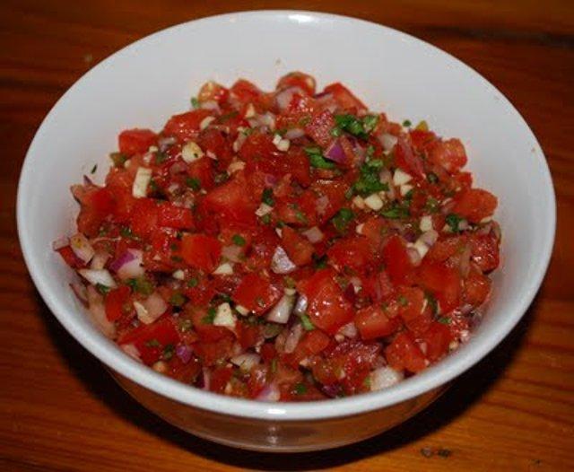 Сальса из овощей. Как приготовить блюдо