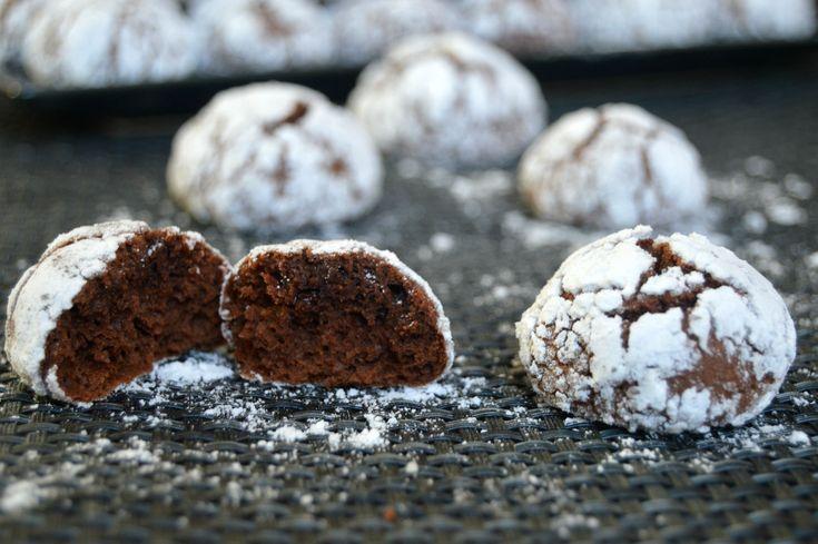 """Шоколадное печенье """"Черное и белое"""""""