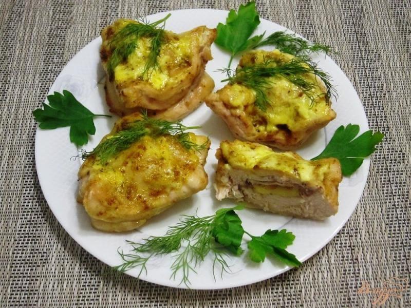 Блюдо из индейки «Острые кармашки»