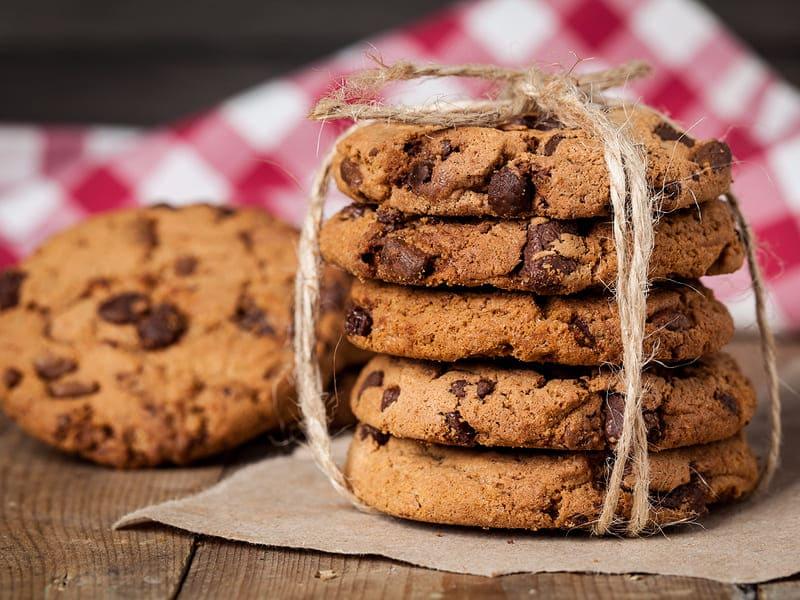 Американское печенье с кусками шоколада