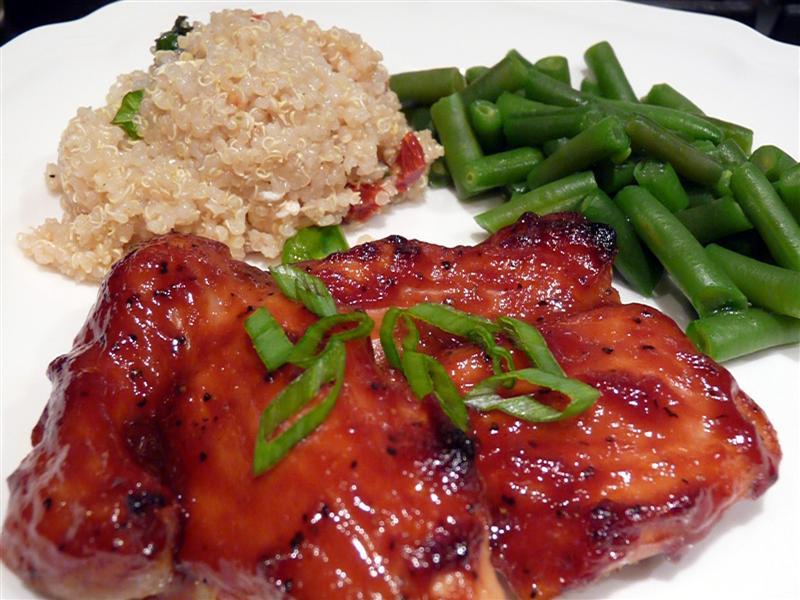 Курица по-азиатски с медом