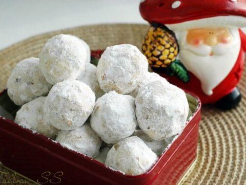 Печенье «Снежные шарики»