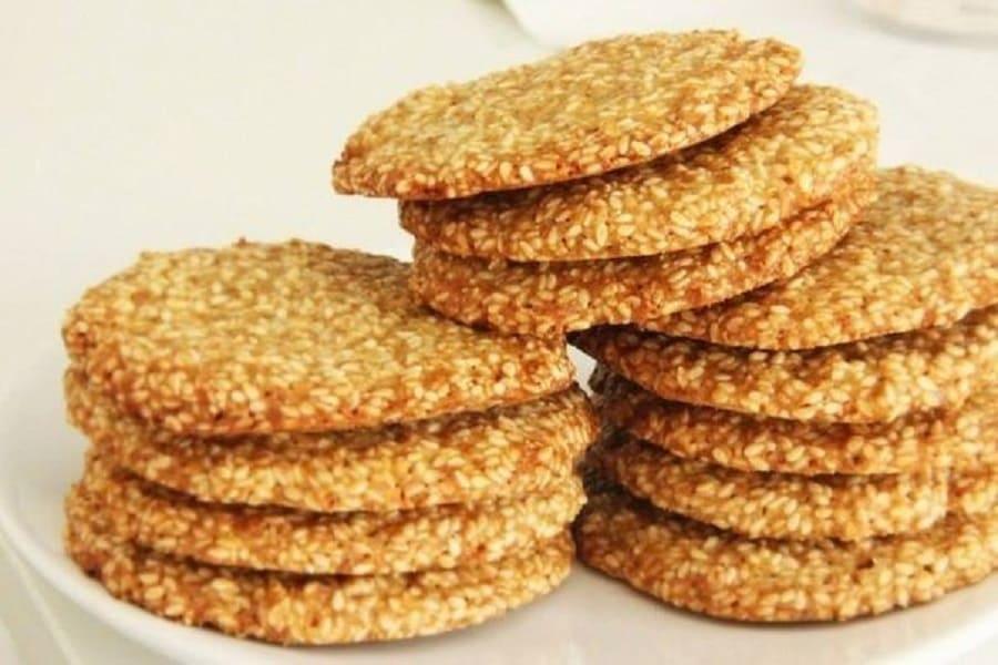 Марокканское печенье с семенами кунжута