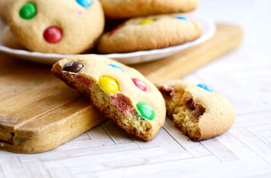 Оригинальное печенье с M&Ms