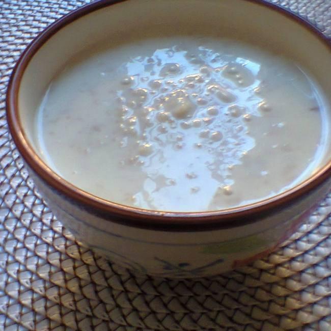 Суп молочный с овсяными хлопьями