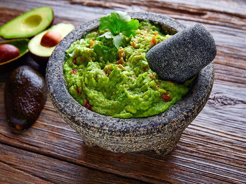 Гуакамоле - соус из авокадо и специй