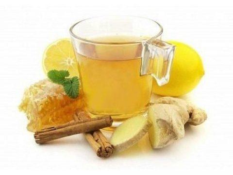 Имбирный чай от коронавируса и простуды