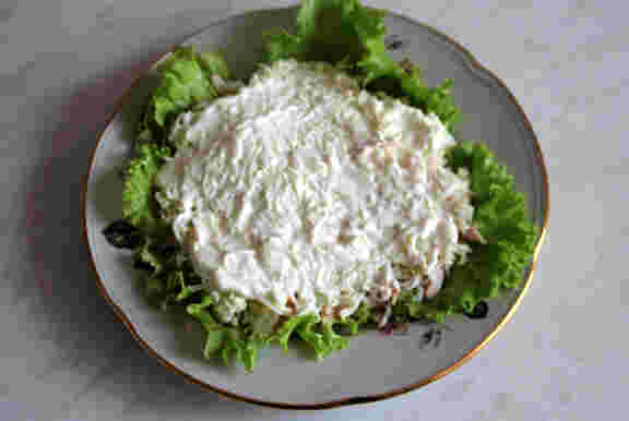 Яйца в салат