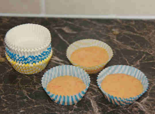 Кексы в формочке