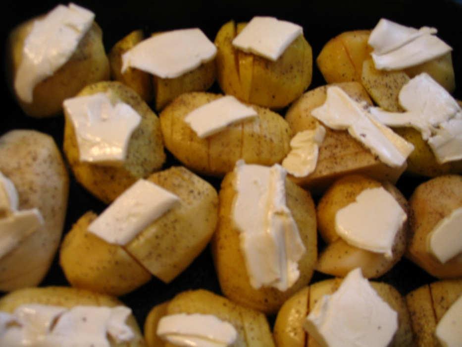 Масло на картофель
