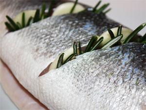 Надрезы в рыбе