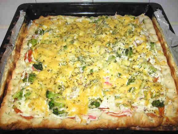 Пиццу в духовку