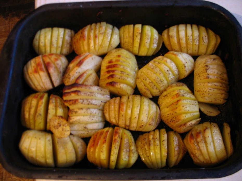 Запекание картошки
