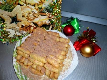 """Новогодний десерт """"Дамские пальчики"""""""