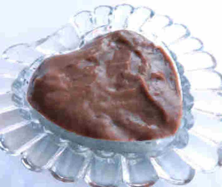 Нежный шоколадный мусс из какао и молока