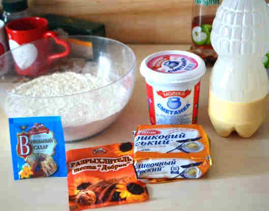 Ингрединты для муравейника