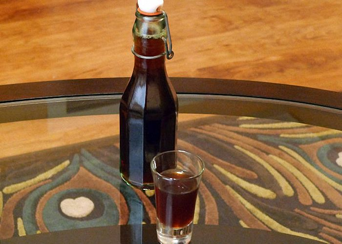 Из пива и водки