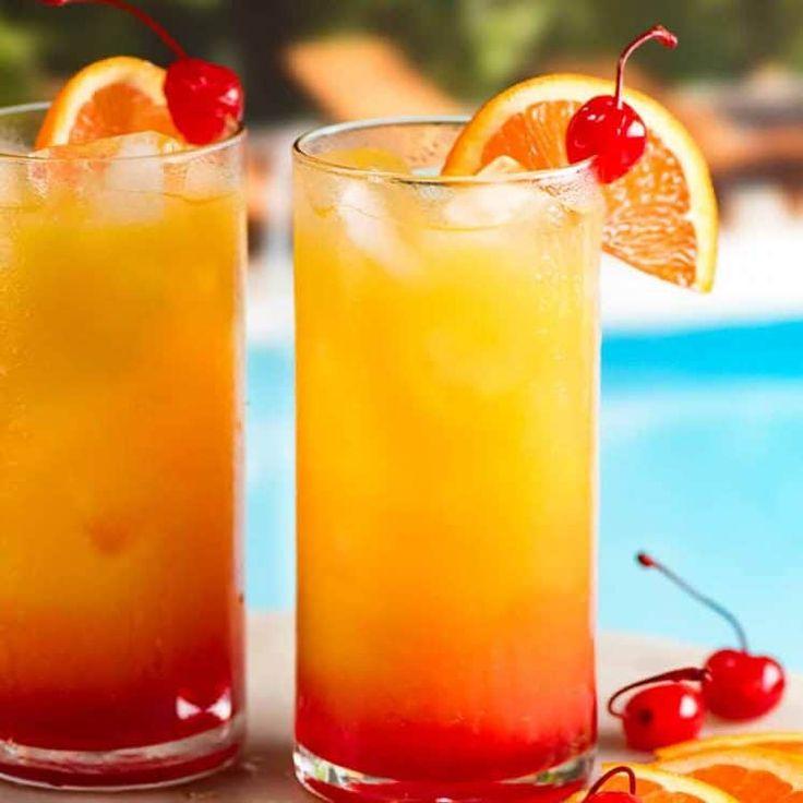 """Апельсиновый коктейль """"Романтичный"""""""