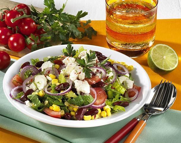 """Средиземноморский овощной салат """"Ривьера"""""""