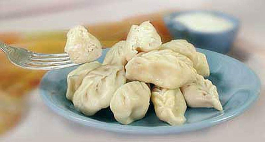 Рецепт соленых вареников с творогом на скорую руку