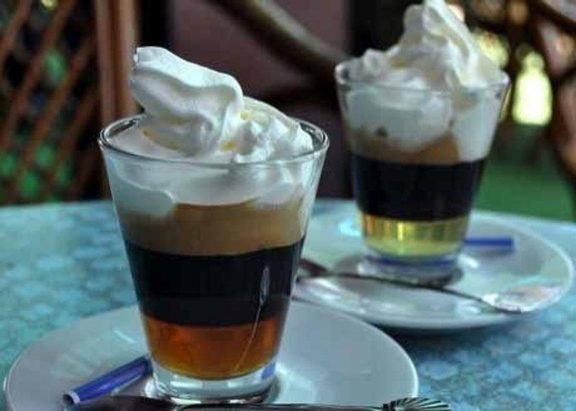 """Кофе """"Дольче Вита"""" со сливками и имбирем"""