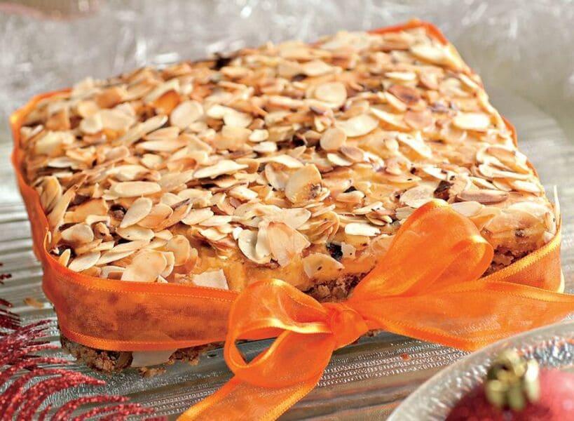 Праздничный ореховый торт