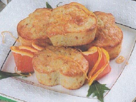 Рисовые кексы с апельсинами