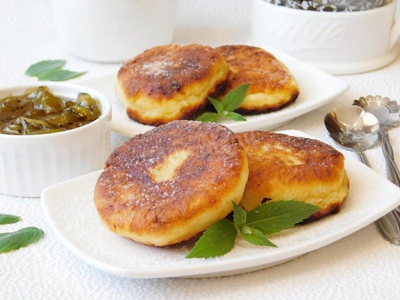 Рецепт сырников на скорую руку