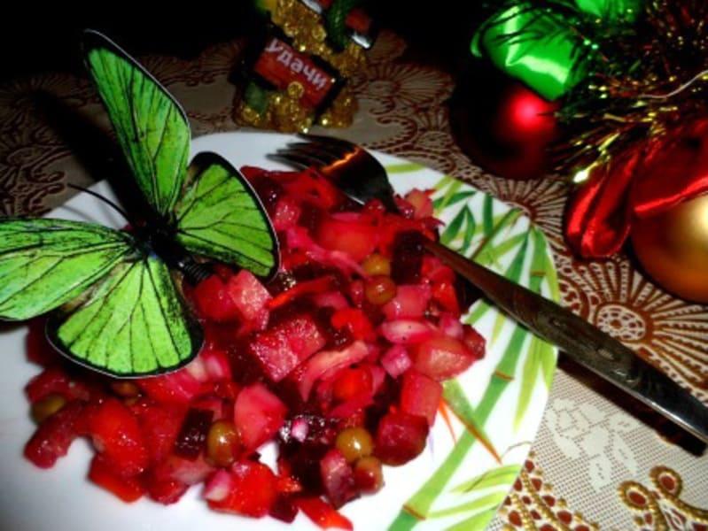 """Салат """"Новогодний винегрет"""""""