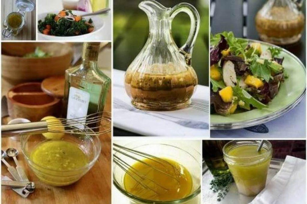 5 рецептов масляных салатных заправок для салатов из овощей