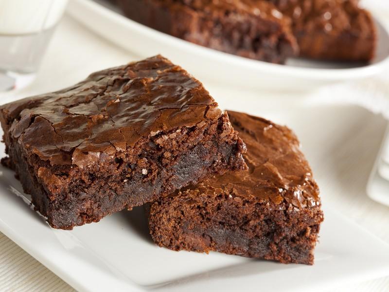 Постное пироженое с добавлением какао или кофе