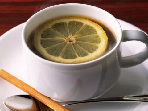 Утренний кофе с лимоном