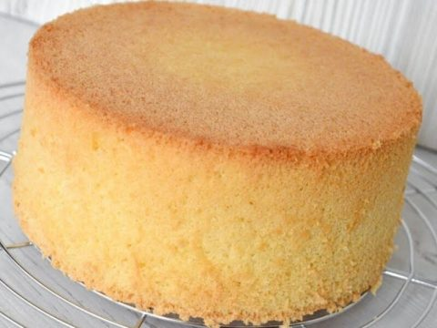 Настоящий классический бисквит для торта и не только