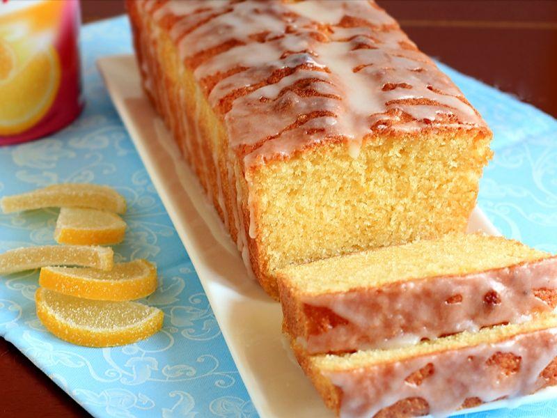 Ароматный и нежный лимонный кекс