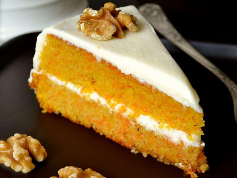 Нежный морковный торт в мультиварке